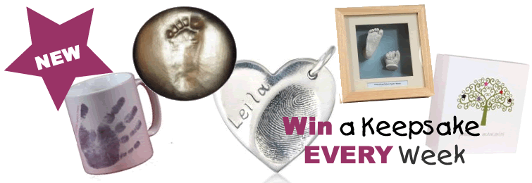 Win a Keepsake Gift Every Week