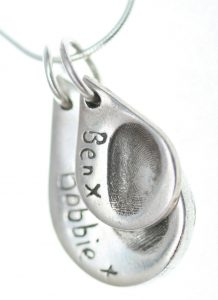 Fingerprint Jewellery Examples