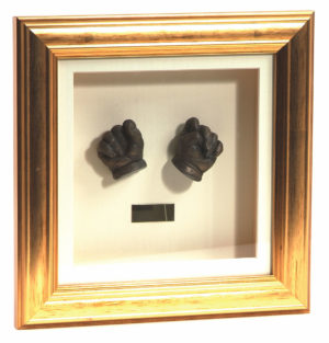 bronze sculpture hand casting
