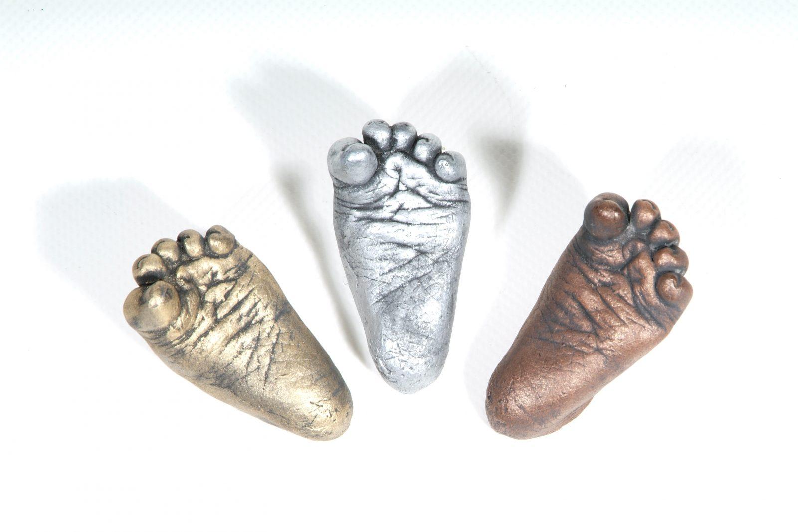 Baby footprint kit and other footprint art ideas baby keepsakes