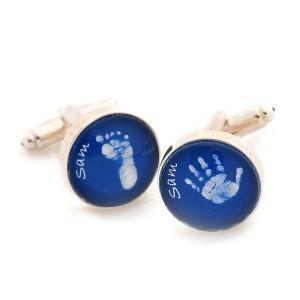 Glass Hand & Footprint Cufflinks £28