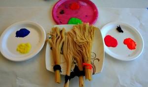 spaghetti paintbrush