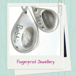 Personalised Wedding Gifts For The Bride: Fingerprint Jewellery
