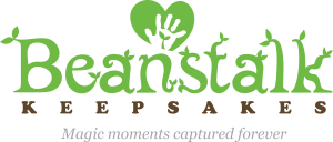 Beanstalk Keepsake Logo with tagline