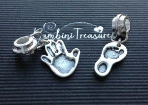 jewellery with hand prints - Bambini Treasures