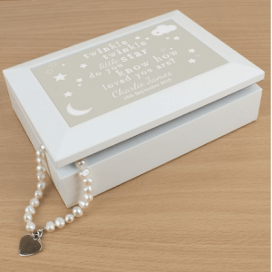 Personalised Keepsake Box: Twinkle Twinkle Keepsake Box