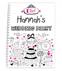 Personalised Wedding Gifts For The Bride: Personalised Wedding Diary