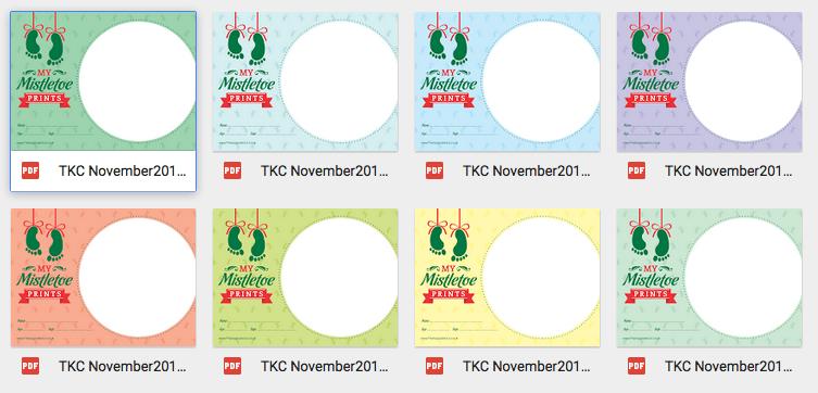 christmas baby keepsakes - designs 3