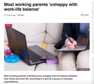 work life balance BBC story