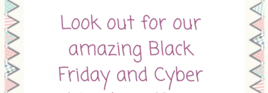 Black Friday and Cyber Monday offers