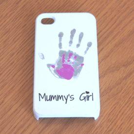 handprint phone case