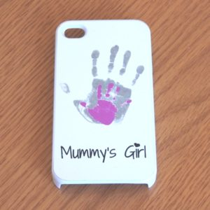 handprint phone case
