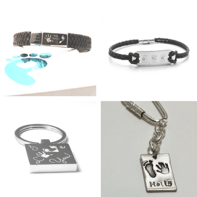 fathers day bracelets and key rings