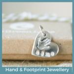 Hand and Footprint Jewellery
