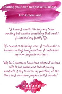 starting a keepsake business tips
